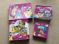 Disney Princesses Puzzle Jigsaw Bundle