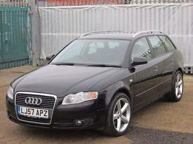 2007 (57 reg), Audi A4 Avant 2.0 TDI SE 5dr (CVT)