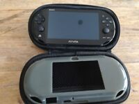 PS Vita - Used in Excellent condition - 8GB Black - Wireless - Inludes Minecraft game