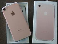 Apple IPhone 7 Rose Gold 32GB Unlocked With Apple Warranty