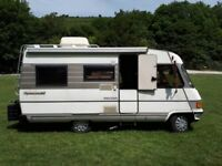 Hymer B544 1990 RHD 2.5TD Motorhome Camper A Class (bigger than VW) £10,995