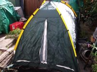 2 MAN DOME TENT IN CARRY BAG 200 x 140 x 130cm approx BERTH FESTIVAL CAMPING