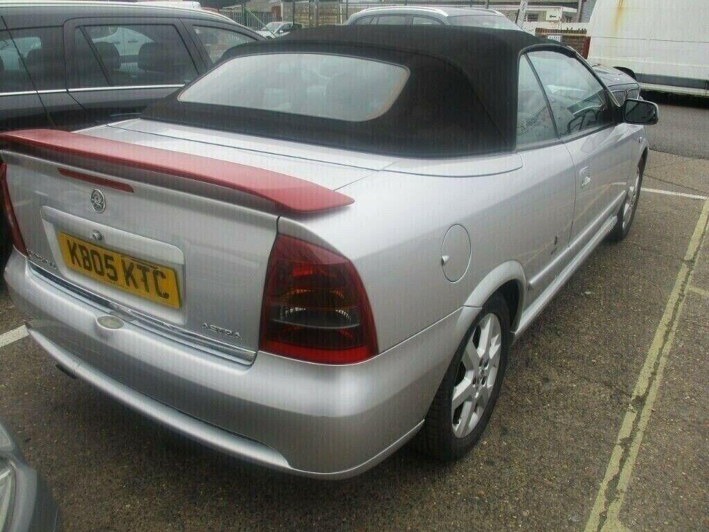 2005 Vauxhall Astra Bertone Convertible 1.8 petrol | in ...