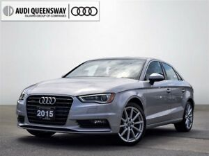 2015 Audi A3 2.0T Progressiv, Clean Carproof, New Brakes