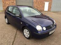 2003 53 Volkswagen polo 1.2 **Long mot**Very clean**