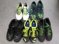 Men's trainers, football boots