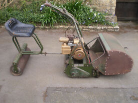 """Webb 24"""" Lawnmower with Seat / Roller."""