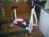 davina cross trainer good condition