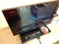 Sony BRAVIA KDL-22PX300 Built-in PlayStation 2 PS2 22-inch Freeview LCD TV