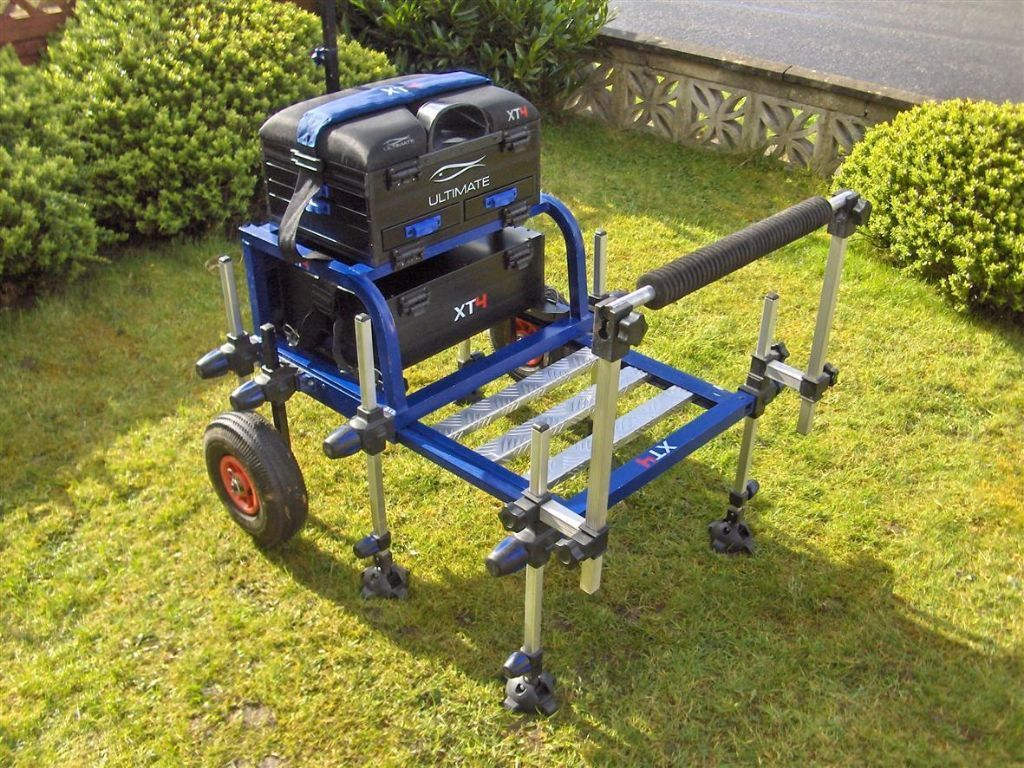 Fully loaded match pole fishing seat box seatbox with