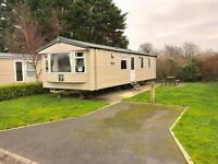 Cheap caravan for sale in Tenby on Kiln Park 2017 site fees included & second hand decking available