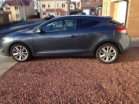 Renault Megane Coupe 1.5 dci Dynamique Tom tom energy 2015 64 plate 21k miles warranty till feb19