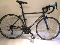 B-Twin Aluminium/Carbon Road Bike (BTwin Triban 500 SE, Upgraded Plus Extras!)