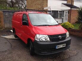 toyota hi ace for sale 2007