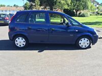 Vauxhall Meriva, 11 months MOT, only 89.000 miles, amazing Service History, 1 owner, very clean car!