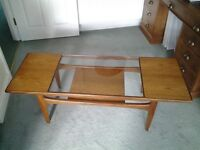 Original G-Plan coffee table in solid teak.