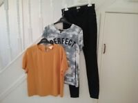 Kids or Women's Jeans and Tops, River Island, New Look and H&M, From