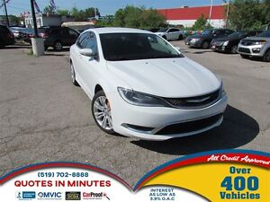 2015 Chrysler 200 LIMITED | HEATED SEATS | ALLOYS | LOW KM!
