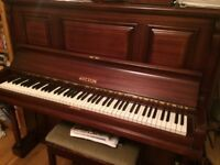 £25 PIANO -- ONLY £25 -- A DECENT, WORKING PIANO -- WITTON
