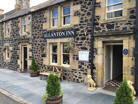 Full time Sous Chef/Chef de Parti at The Allanton Inn