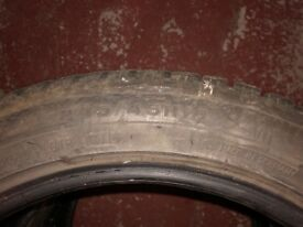 4 Used 245/45R18 Winter Tyres for sale