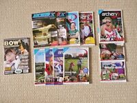 12 Archery Magazines 11 Archery UK & 1 Bow International News Stories Tips Equipment Advice £20 ONO