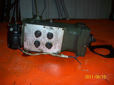 Nordberg Diesel Engine Speed Governor V0417008 Type V-10r Ug8 M1448 Fort Leeva