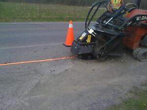 Micro Trenching Ditch Witch Micro Trenching Earth Saw