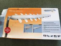 Digital aerial and mast for caravan motor home
