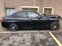 BMW 335d xdrive 2014 individual big spec sunroof hud unrecorded damage salvage