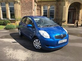 2006 TOYOTA YARIS T3 1.3 5DR MANUAL ( 1 OWNER FROM NEW)