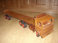 Sturdy wooden lorry