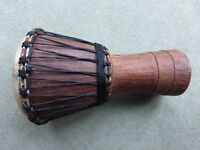 """DJEMBE AFRICAN DRUM 10"""" Kambala Professional KDJ103 Excellent condition and lovely tone"""