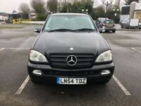 Semi-Auto ,Mercedes-Benz M CLASS,Ready MOT, 47k Mileage,£2650(like Vw,BMW, Astra,ford,Vauxhall,honda