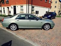 Hello for sale rover 75 2liter diesel automatic 4dr saloon full leather seat Run and drive perfect