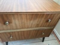 Vintage Art Deco Chest of Drawers