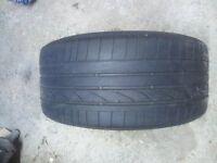 Bridgestone Potenza Tyre - 255 35 18W (Run Flat)