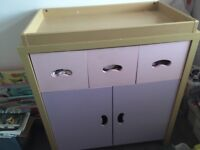 Changing table / cabinet