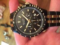Black and Gold Sekonda Watch