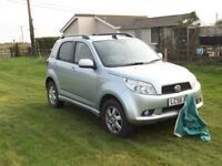 Diahatsu Terios 4x4 Limited edition ,in grey leather ,with auto