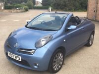 Nissan Micra 1.6 Essenza Convertible 2007 - Petrol - Manual - FMDSH - One Owner From New - Warranty