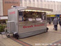 AJC CATERING TRAILER 2005MY, FULLY LOADED WITH MANY EXTRAS-10 MONTHS WORKED ONLY