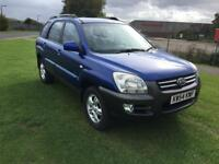 54 REG KIA SPORTAGE 2.0 XE 5DR-2 OWNERS-HISTORY-GREAT LOOKING 4X4 DRIVES WELL