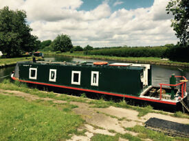 1975 Holly Lou Narrowboat 37'