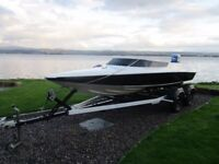 Reiver 17ft Speedboat 1986 & Yamaha 60hp Outboard