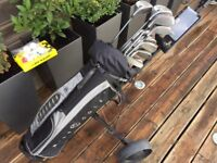 For sale Ben Sayers, Howson, Taylor Made Golf Clubs, Nike Bag, Golf Trolley, great set up
