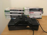 Xbox 360 S 250GB with games