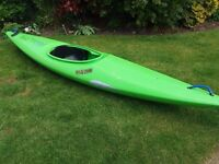 Wild One Kayak, spray deck and paddle