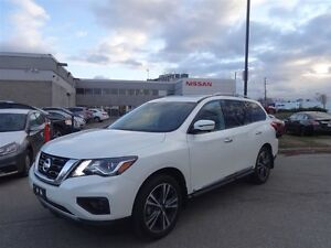 2017 Nissan Pathfinder Platinum|EXECUTIVE DEMO|FULLY LOADED|GPS|
