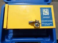 STRONGHOLD insurance approved Caravan hitch lock with 2 keys